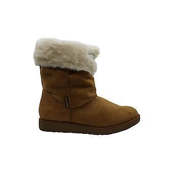 Bebe Femeiăs Pantofi Lanaya Faux Fur Închis Toe Mid-Calf Fashion Boots