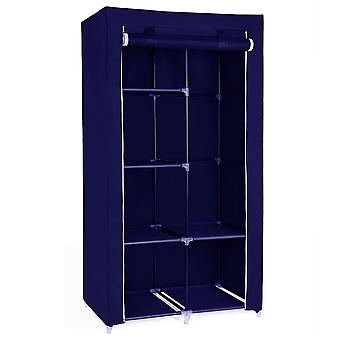 Herzberg HG-8010: Storage Wardrobe - Small Blue