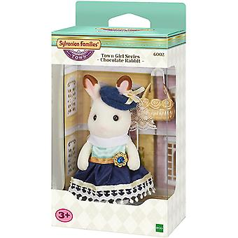 Sylvanian Families Town Girl Series Chocolate Rabbit Kids Toy