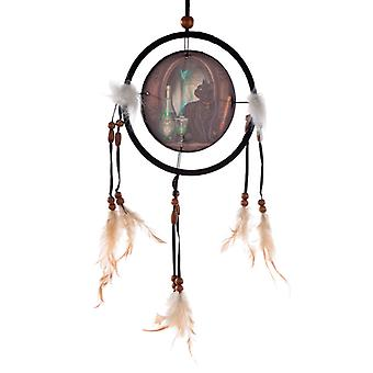 Decorative Lisa Parker Absinthe Cat Dreamcatcher Small X 1 Pack