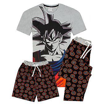 Dragonball Z Goku Karakter Men's Pyjamas Korte OF Lange Been Opties