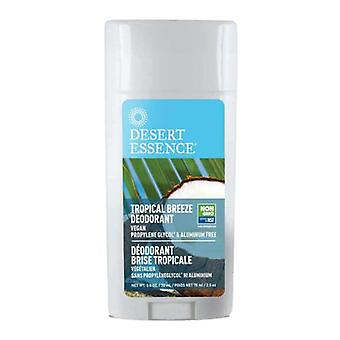 Desert Essence Tropical Breeze Deodorant, 2.5 OZ