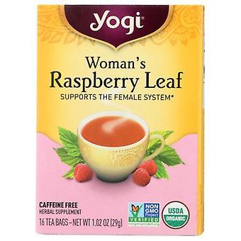 Yogi Woman's Tea Raspberry Leaf, 16 bags