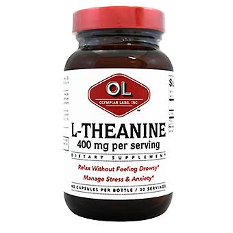 Olympian Labs L-Theanine, 400 mg, 60 caps