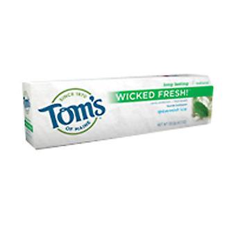 Dentifrice au fluorure frais de Tom-apos;s Of Maine Wicked, 4,7 OZ