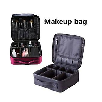 High Quality Professional Empty Makeup Organizer Cosmetic Case Travel Large Capacity Storage Bag Suitcases