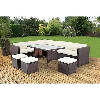 Mercia Outdoor Furniture (brown)