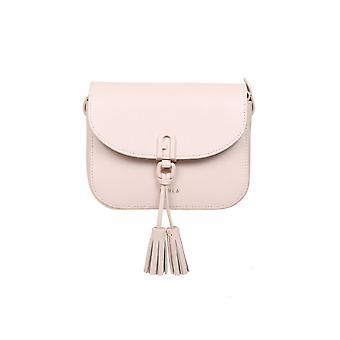 Furla Baeqacoare000b4l00 Women's Pink Leather Shoulder Bag