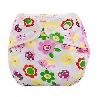 Reusable Waterproof Digital Printed, Baby Cloth Diaper
