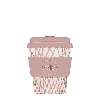 eCoffee Reusable Sustainable Bamboo 8oz Coffee Cups With Silicone Lid & Sleeve