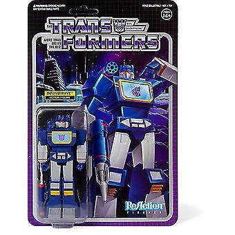 Transformers Reaction Figures Wave 1 - Soundwave USA import