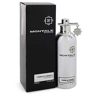 Montale Vanille absolu by Montale Eau de Parfum Spray (Unisex) 3,4 oz (naiset) V728-545171