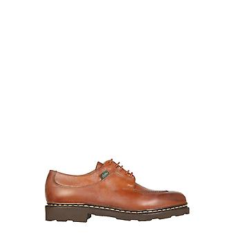 Paraboot 705111 Men's Brown Leather Lace-up Shoes