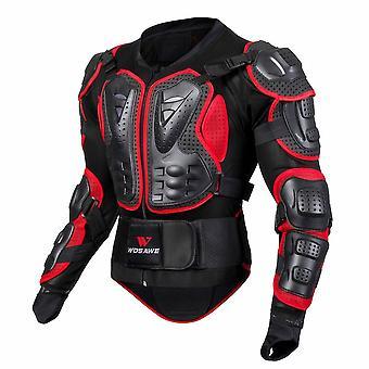 Snowboarding Motos Motocicleta Skiløb Body Armor Shirt Jakke Ryg skulder
