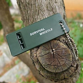 Rescue Survive Signal Sound Whistle, Camp Hike Outdoor Emergent Sport, Erotuomari