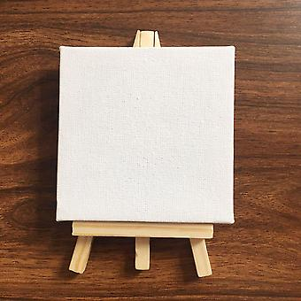 Mini Blank Canvas For Painting Acrylic Paint With Easel Art For Painting Artist