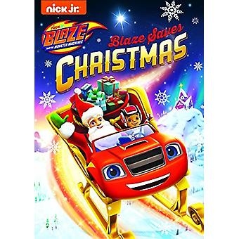 Blaze & Monster Machines: Blaze sauve Noël [DVD] Importation aux États-Unis