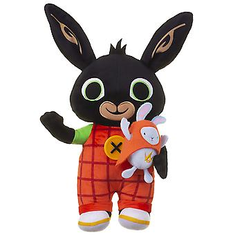Light up talking bing soft toy with hoppity, 36cm without batteries