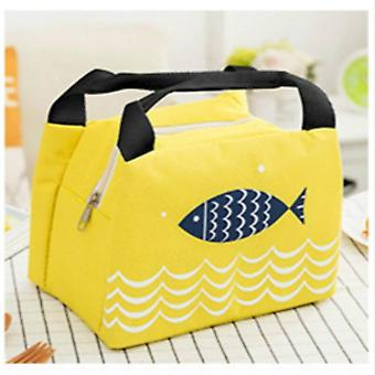 Portable Thermal Insulated Lunch Bag/box, Tote Cooler Handbag Bento Pouch