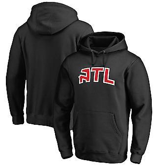 Atlanta Hawks Loose Pullover Hoodie Sweatshirt WY159