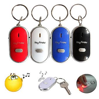 Whistle Lost Key Finder - Flashing Beeping Locator Remote