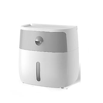 Vedenpitävä seinäkiinnitys WC-paperiteline