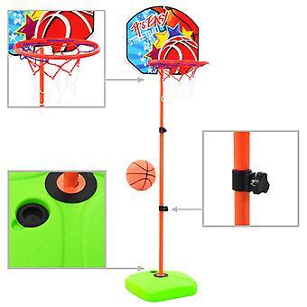 Lasten koripallokori ja pallosarja