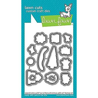 Lawn Fawn Car Critters Christmas Add-On Morre
