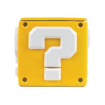 Super Mario Question Mark Decorative Jar