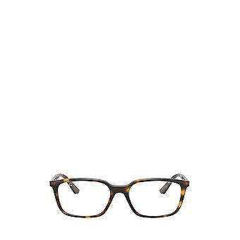 Óculos ray-ban RX7176 havana unissex
