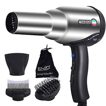 Professional Hair Dryer Volumizer Negative Ion Blow Dryer Brush Hot/cold With