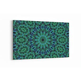Schilderij - Kleurenpatroon — 100x70cm