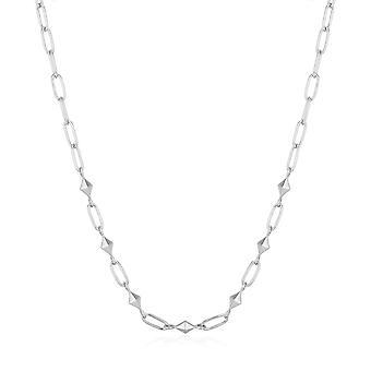 Ania Haie Rodium Silver Tung Spike Halsband N025-03H