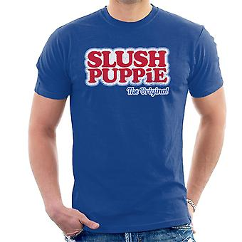 Slush Puppie Het originele logo Men's T-Shirt