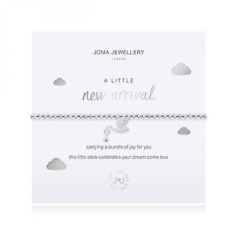 Joma Sieraden Een beetje nieuwe aankomst zilver 17,5 cm stretch armband 3475