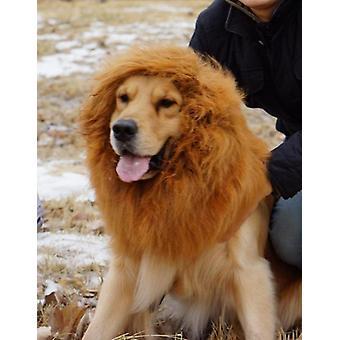 Löwe Mähe Perücke für Hund