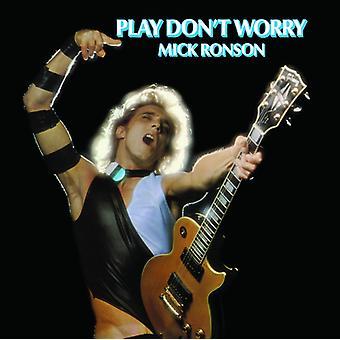 Ronson*Mick - Play Don't Worry [Vinyl] USA import
