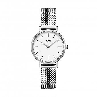 Cluse Unisex La Behème Silver Circle Quartz Fashion Watch CW0101211007