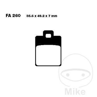 EBC Carbon Scooter Remblokken SFAC260