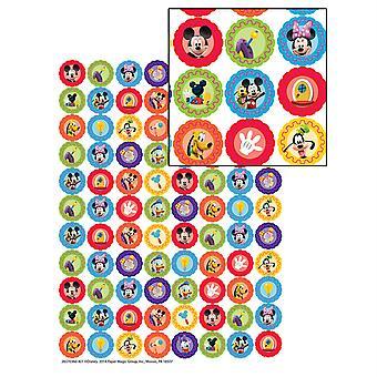 Mickey Mouse Clubhaus Zahnräder Mini-Aufkleber