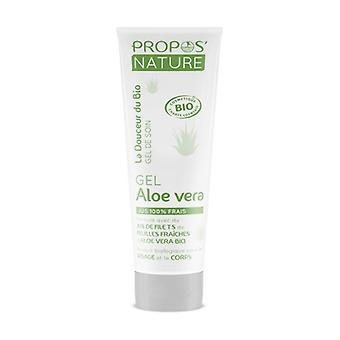 Organic aloe vera gel 100 ml of gel