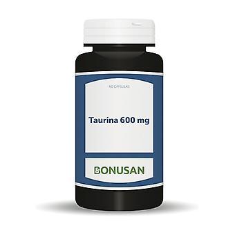 Taurine 60 capsules of 600mg