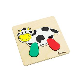 "Alatoys Wooden  Puzzles ""Cow"""