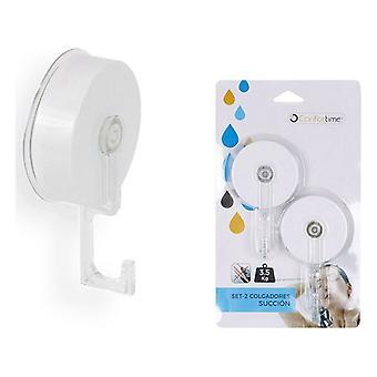 Shower Hanger Confortime ABS (2 uds) (11