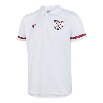 2020-2021 West Ham Poly Polo Shirt (White)