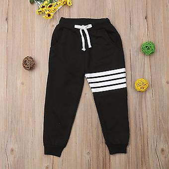 Sports Pants Kids,/girl Striped Harem, Toddler Trousers