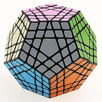 Professional Dodecahedron Magic Cube lelu , Rubik's Kuutio, Twist Puzzle Learning Koulutus