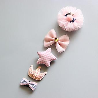 Cartoon Toddler Hair Clips Animal Motif Mini Hairpins For Baby Barrettes