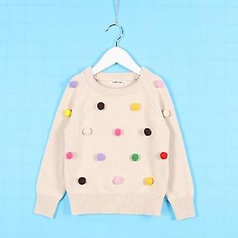 Lovely Baby Sweater, Infant 100% Cotton Long Sleeve Coat Sweater