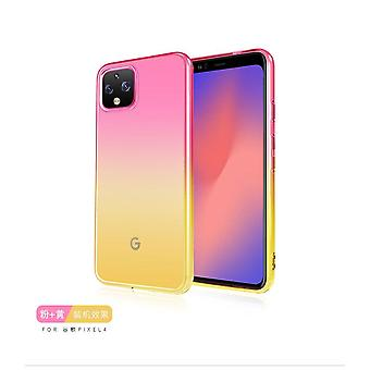 Shockproof TPU case for Google Pixel 4 - Rose & Gold